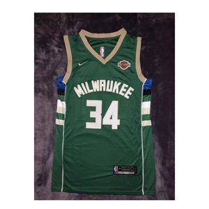Giannis #34 Basketball Jersey NWT Stiched